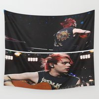 5 seconds of summer Wall Tapestries featuring 5 Seconds of Summer - Michael by Fan_Girl_Designs