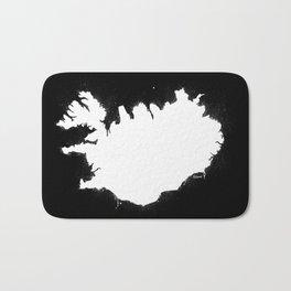 Iceland W&B Bath Mat