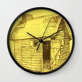 Gold New World Wall Clock