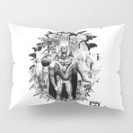 Batman/Superman - The Death of a Brother Pillow Sham