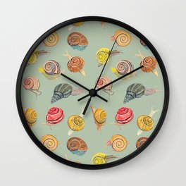 Snail Series 1 Wall Clock