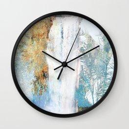 Wonder Waterfall Wall Clock