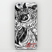 et iPhone & iPod Skins featuring et by holimp art