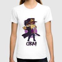 jjba T-shirts featuring ORA by Bettwitch