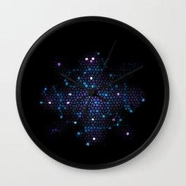 Mosaic Cross Wall Clock