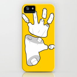 Puzzle Hands iPhone Case