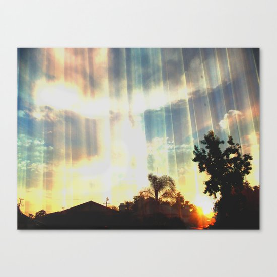 Enter to the Divine Canvas Print