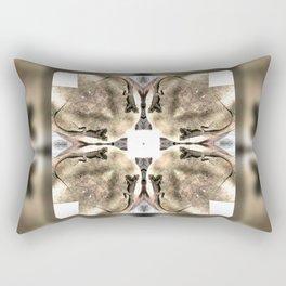 Lizards galore kaleidoscope Rectangular Pillow