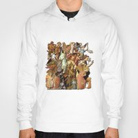 angels Hoodies featuring Angels by Vesna Bursich