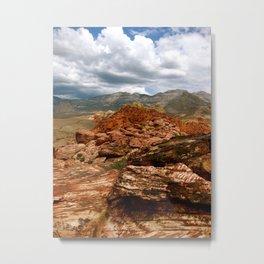 Red Rock Metal Print