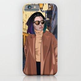 Queen in Paris I iPhone Case