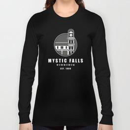 Mystic Falls Tourism Logo Long Sleeve T-shirt