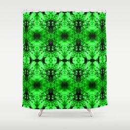 Dandelions Garishgreen Shower Curtain