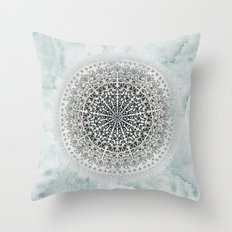 ICELAND MANDALA Throw Pillow