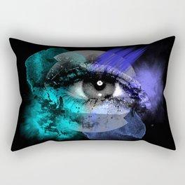 Eye of a color Rectangular Pillow