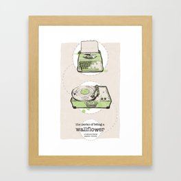 Perks Of Being A Wallflower Limited Edition Movie Poster Print  Framed Art Print