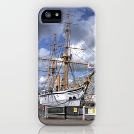 HMS Gannett iPhone Case