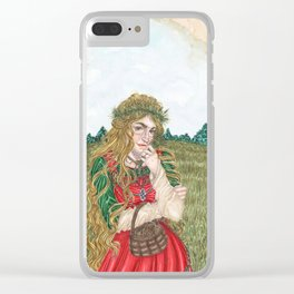 Goddess Sif Clear iPhone Case