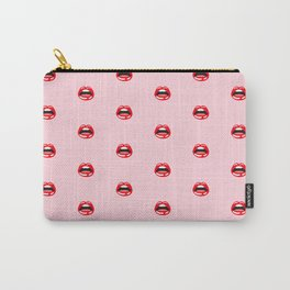 SEXY LIPS ((pastel pink)) Carry-All Pouch