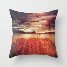 pyrmyd stylk Throw Pillow