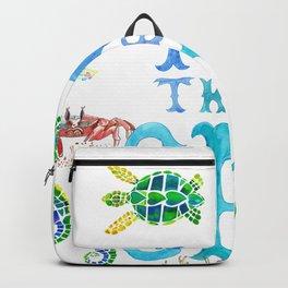 I Love the Sea Backpack