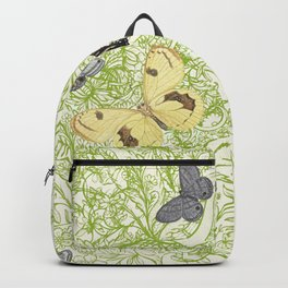 Butterflies in the bee loud glade Backpack