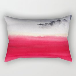 Martian bloom Rectangular Pillow
