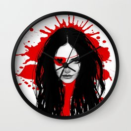 Pirata Blood Wall Clock