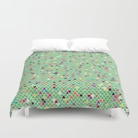 mexico Duvet Covers featuring Mexico by Camille Hermant
