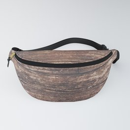 Vintage Wooden Floor Abstract Fanny Pack