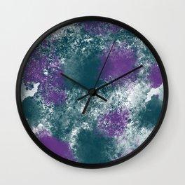 Mermaid Camouflage Wall Clock