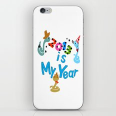 2013 is my Year iPhone & iPod Skin