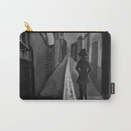 Night Alley Silhouette Carry-All Pouch