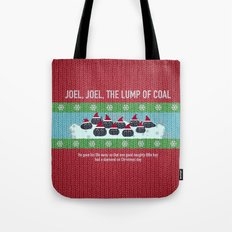 Lump of Coal / Christmas Sweater Tote Bag