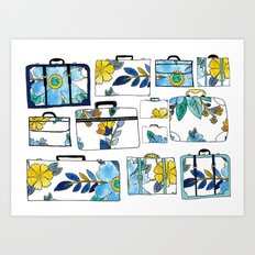 Pack It Up Pack It In Art Print
