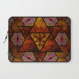 Sacred Geometry for your daily life -  Platonic Solids - IGNIS Laptop Sleeve