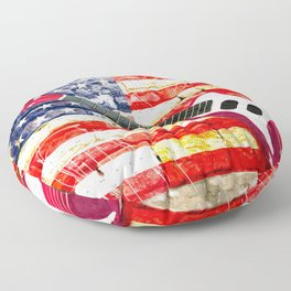 Sounds of America Floor Pillow