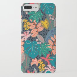 Midnight in the Jungle iPhone Case