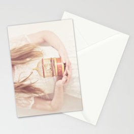sweet nightingale Stationery Cards