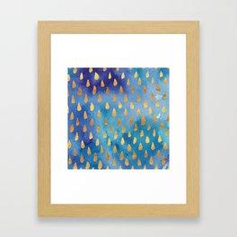Goldiedrops Framed Art Print