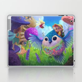 Fly me to the Fairyland Laptop & iPad Skin