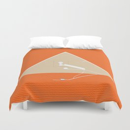 The Chambers, Great Pyramid, Giza Duvet Cover