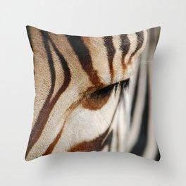Zebra style Throw Pillow
