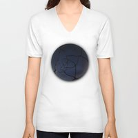interstellar V-neck T-shirts featuring InterStellar by Fiber