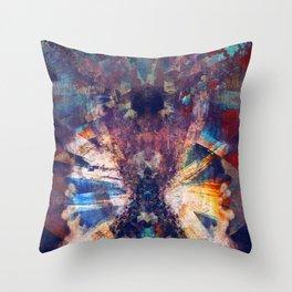 sierpinskis entropic crucible Throw Pillow