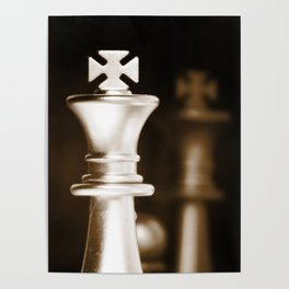 Chess-Sliver King Poster