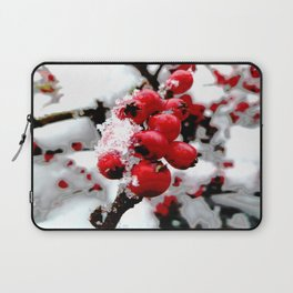 Bright Red Berries Laptop Sleeve