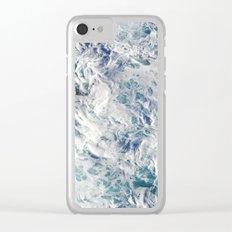 Seafoam Pacific Clear iPhone Case
