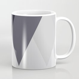 Sawtooth Blue Grey Coffee Mug
