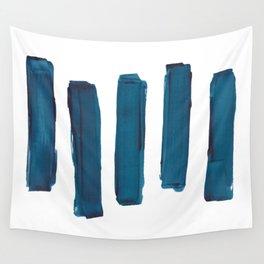 Indigo Stripes Wall Tapestry